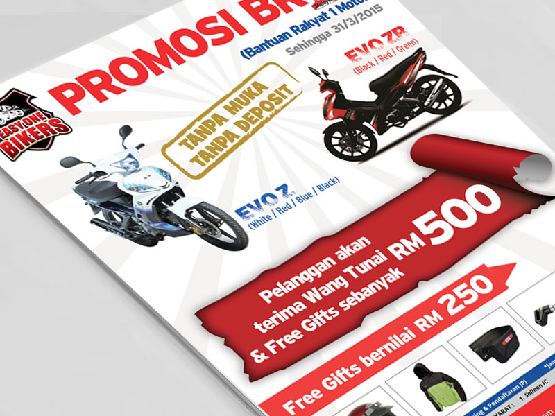 Brochure Easy One Bikers