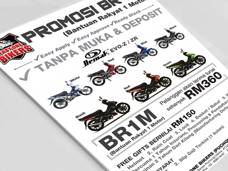 Flyers Easy One Bikers